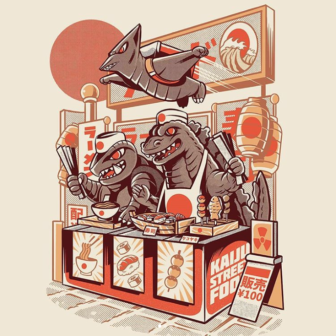 d1ff9eddf REMARKS: This is the first collectible from Brasil based Illustration  studio ilustrata, who's depiction of Kaiju's Ramen is seen below (circa  August 2018)! ...