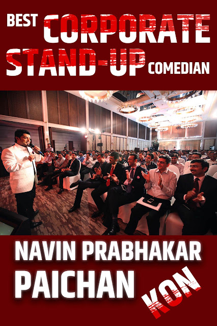 Best Corporate Stand-Up Comedian Navin Prabhakar In India