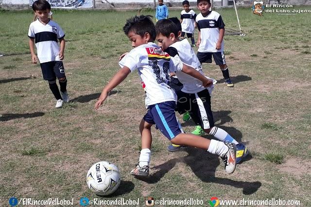 El Lobito debutó en el Torneo de Fútbol Infantil que organiza la Liga Jujeña