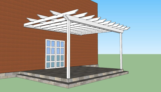attached pergola design plans ideas