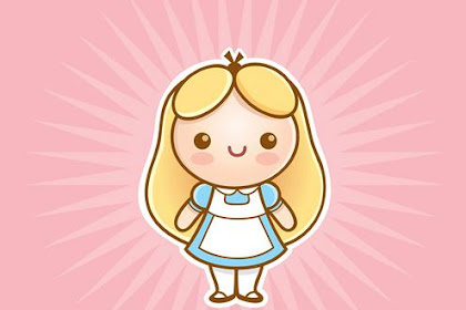 Dibujos De Princesas Disney Kawaii Para Colorear