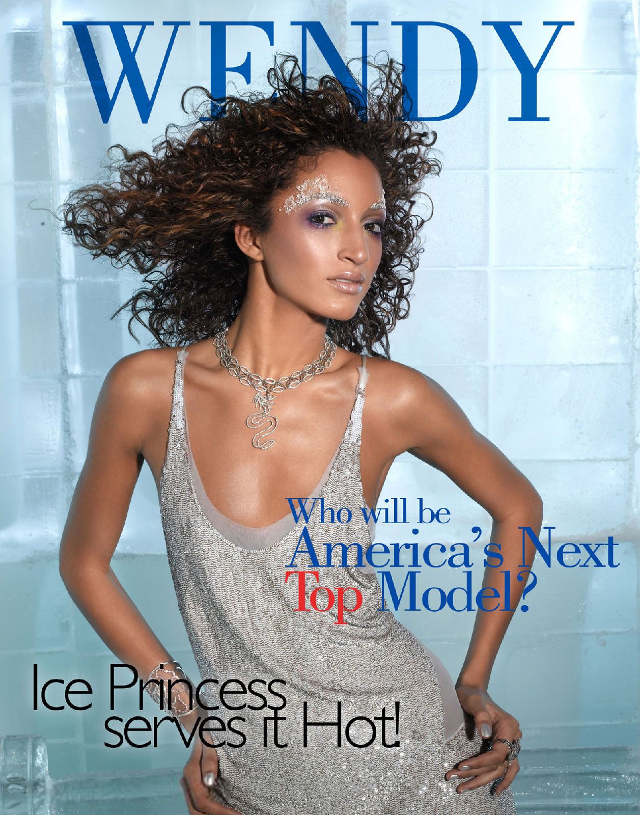 next top model blog antm c6 ice princess magazine covers. Black Bedroom Furniture Sets. Home Design Ideas
