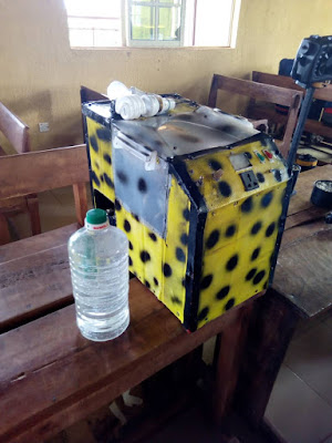 Nigerian Students Made Generator Running On Water (Photos)