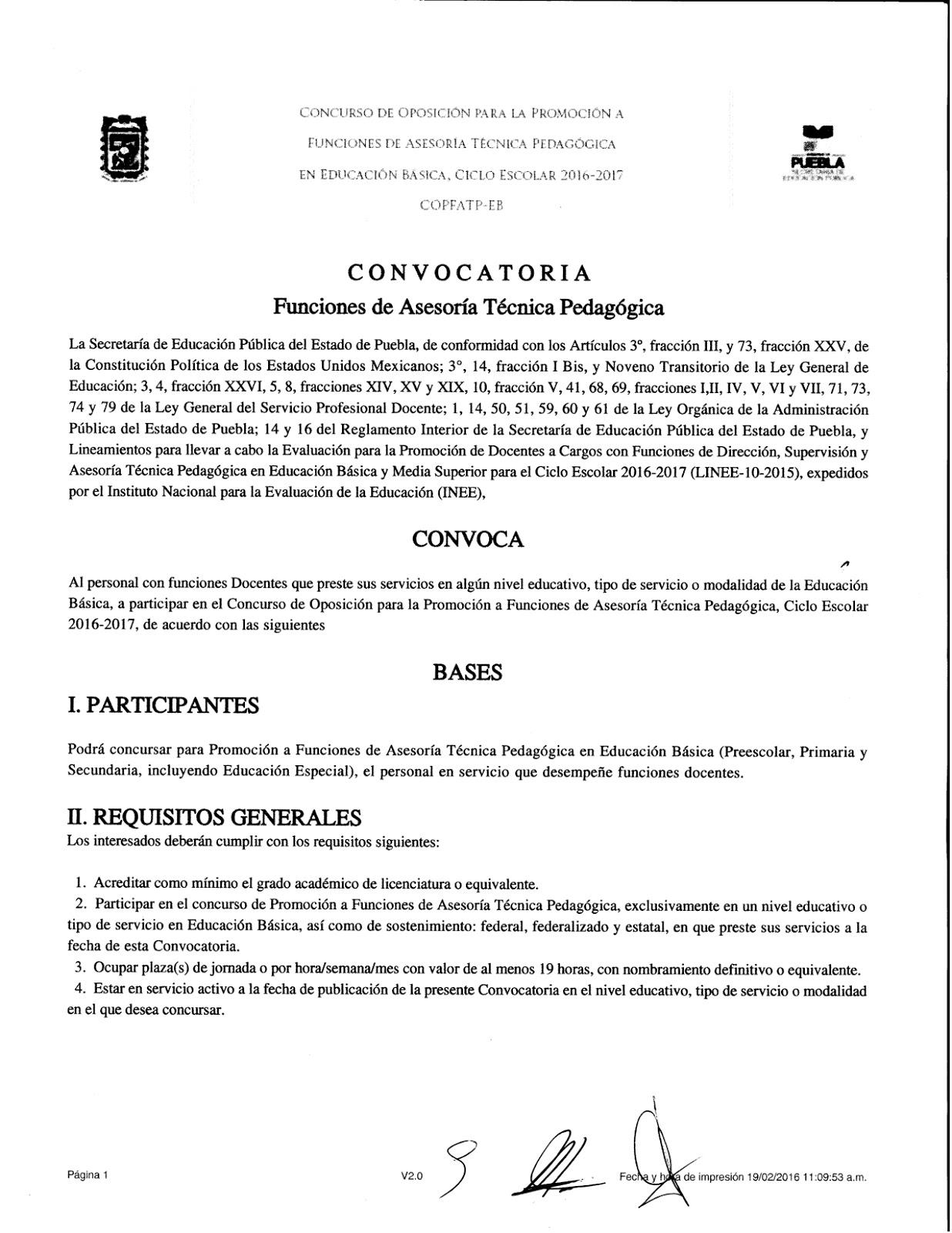 Jefe de ense anza de escuelas secundarias t cnicas for Convocatoria concurso de docentes 2016