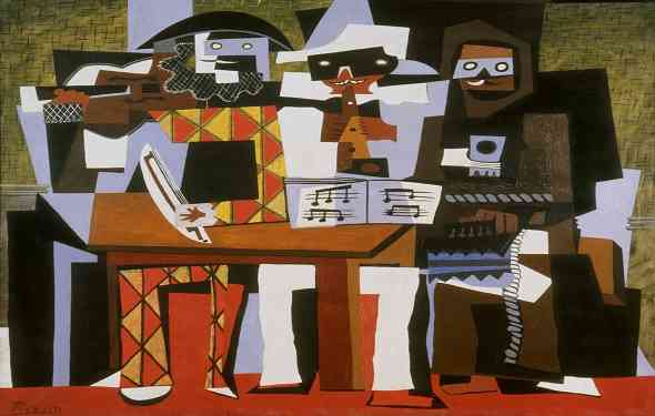 three-musicians-الموسيقيون-الثلاثة