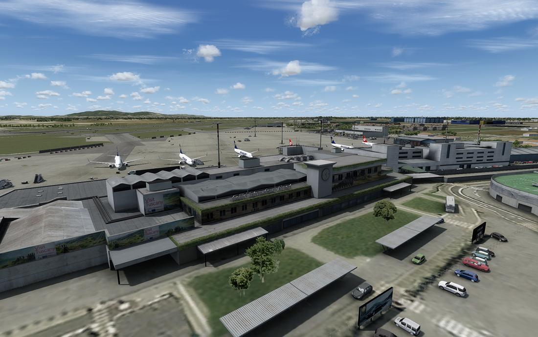 FSX/P3D] Aerosoft - Pisa LIRP - Master Addons