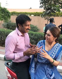 Hansika,Gopichand New Movie Stills