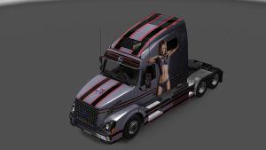 Candice Swanepoel Skin for Volvo VNL 670