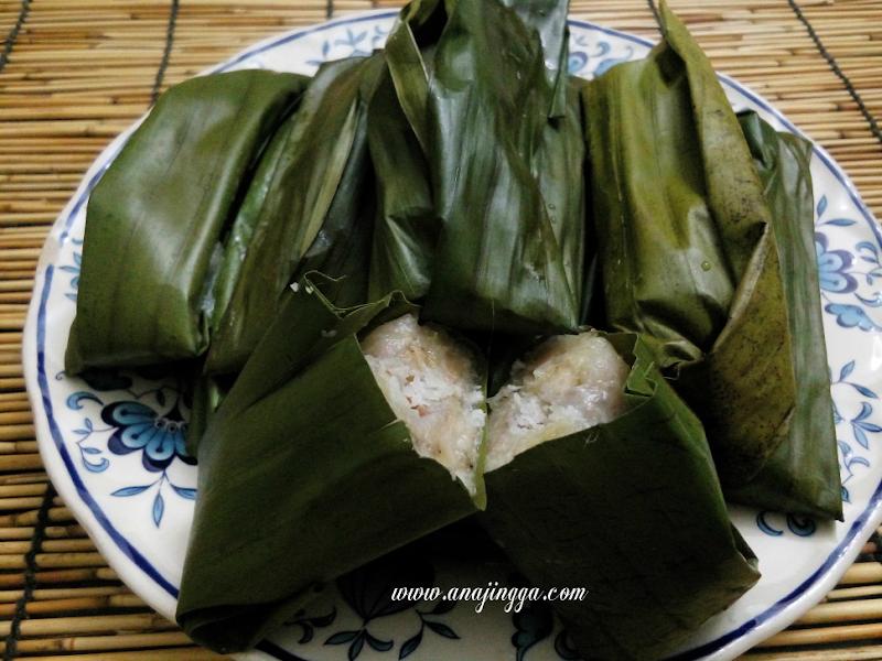 Lepat Pisang Kuih Tradisional Melayu