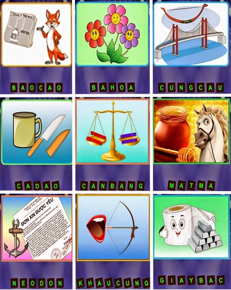 Đáp Án Đuổi Hình Bắt Chữ (Có Hình) Đầy Đủ Mới Nhất | Tổng Hợp Các Mẹo Vặt  Hay Cho Bạn