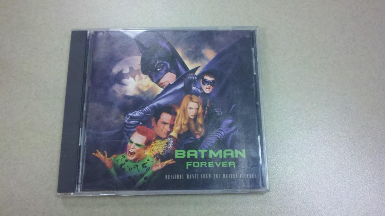 Movie MoJoe: Soundtrack To My Life: Batman Forever