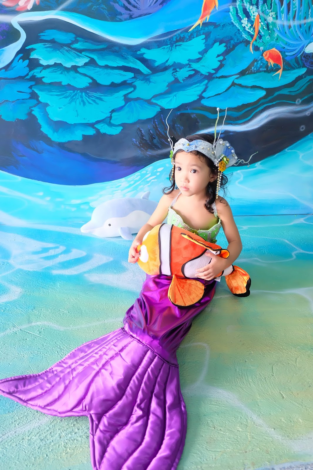 The first mermaid-themed cafe in the Philippines