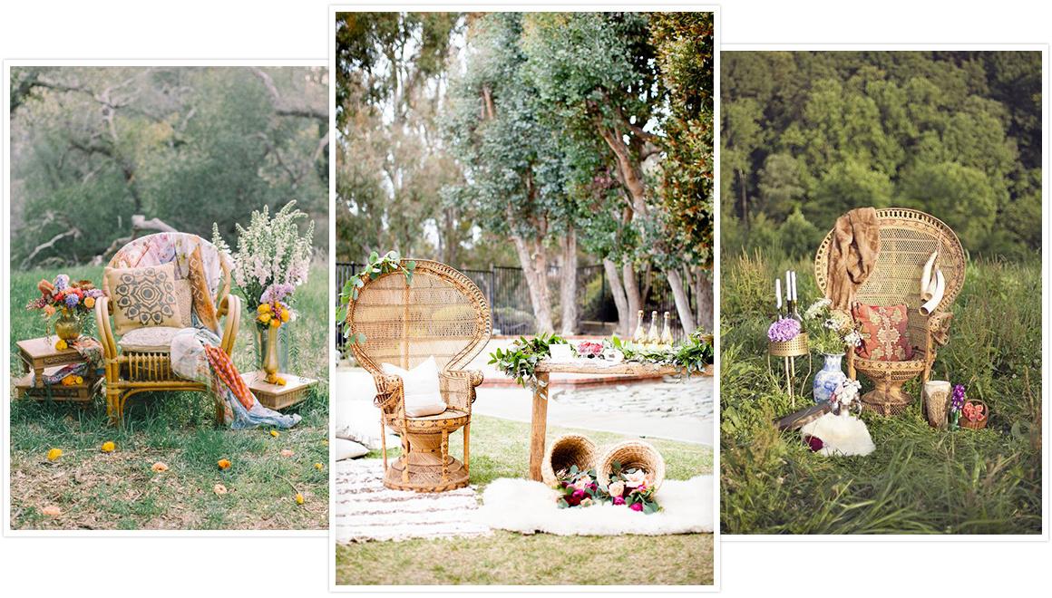mobilier en r sine tress e au jardin de chlo et si on se mariait au jardin. Black Bedroom Furniture Sets. Home Design Ideas