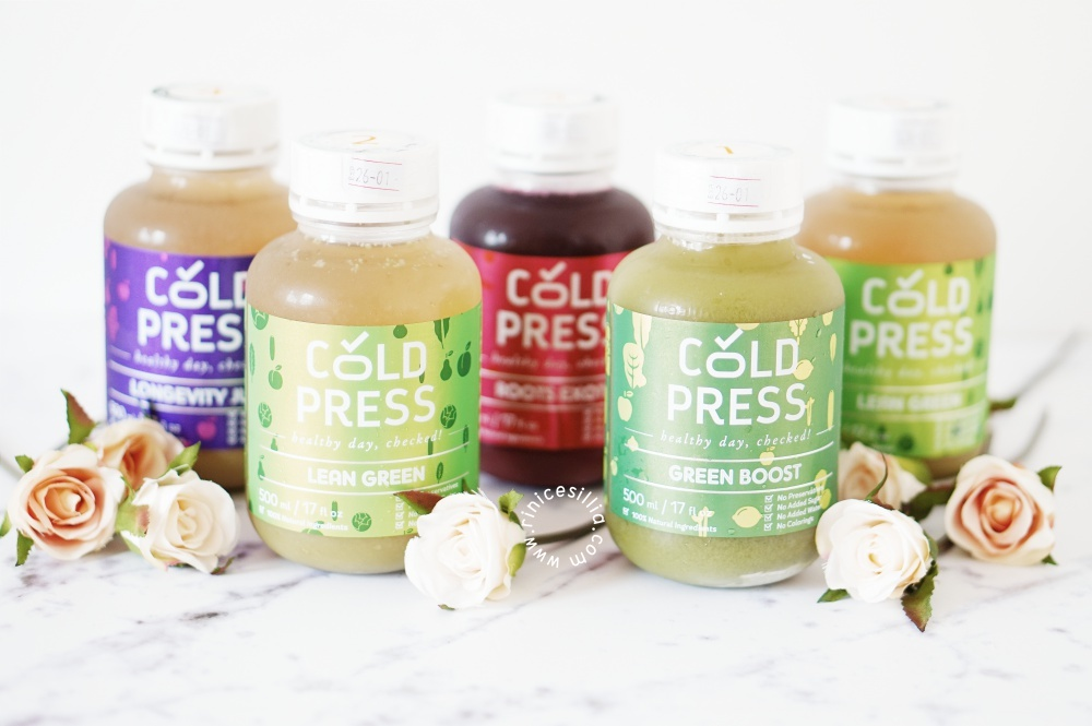 Cold Press Indonesia: Skin Glow & Weight Maintenance Detox Experience