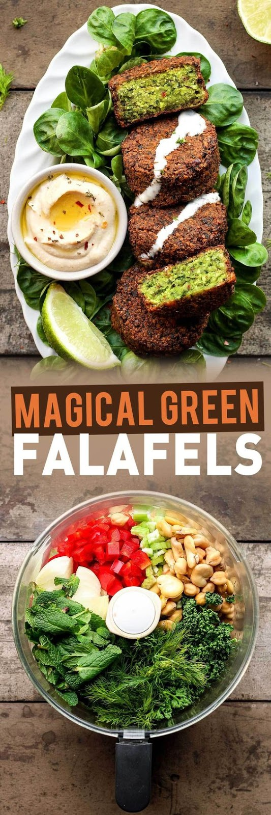 Magical Green Falafels(Vegetarian,Gluten free)