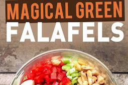Magical Green Falafels(Vegetarian,Gluten free)