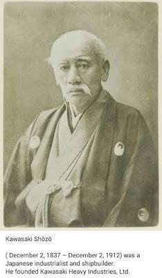 gambar kawasaki, pengasas motor kawasaki