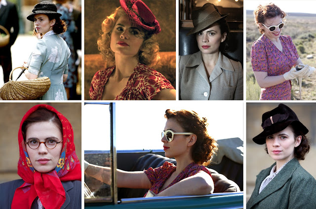 The Butterfly Balcony:Wendy's Week - Tweets & Repeats - BBC's Restless Hayley Atwell Costumes