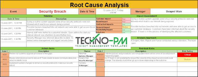 rca template, root cause analysis excel template, root cause analysis format