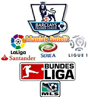Rangkuman Daftar  Channel di parabola Yang Menyiarkan Olahraga Liga Sepakbola Liga Inggris,liga ltaly,liga spanyo