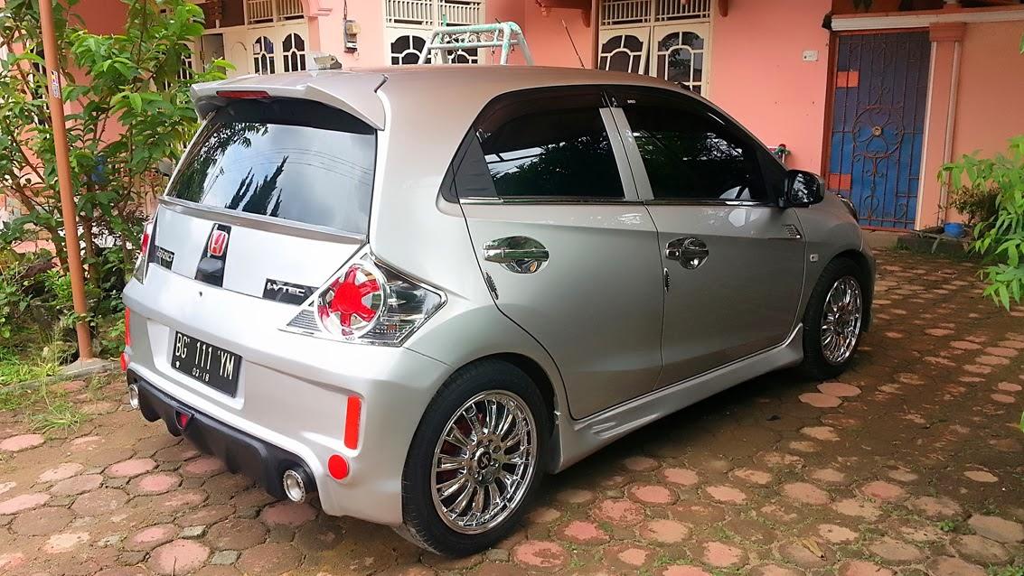 Modifikasi Honda Brio Satya 2014