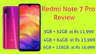 Redmi note 7 pro full detailed Review