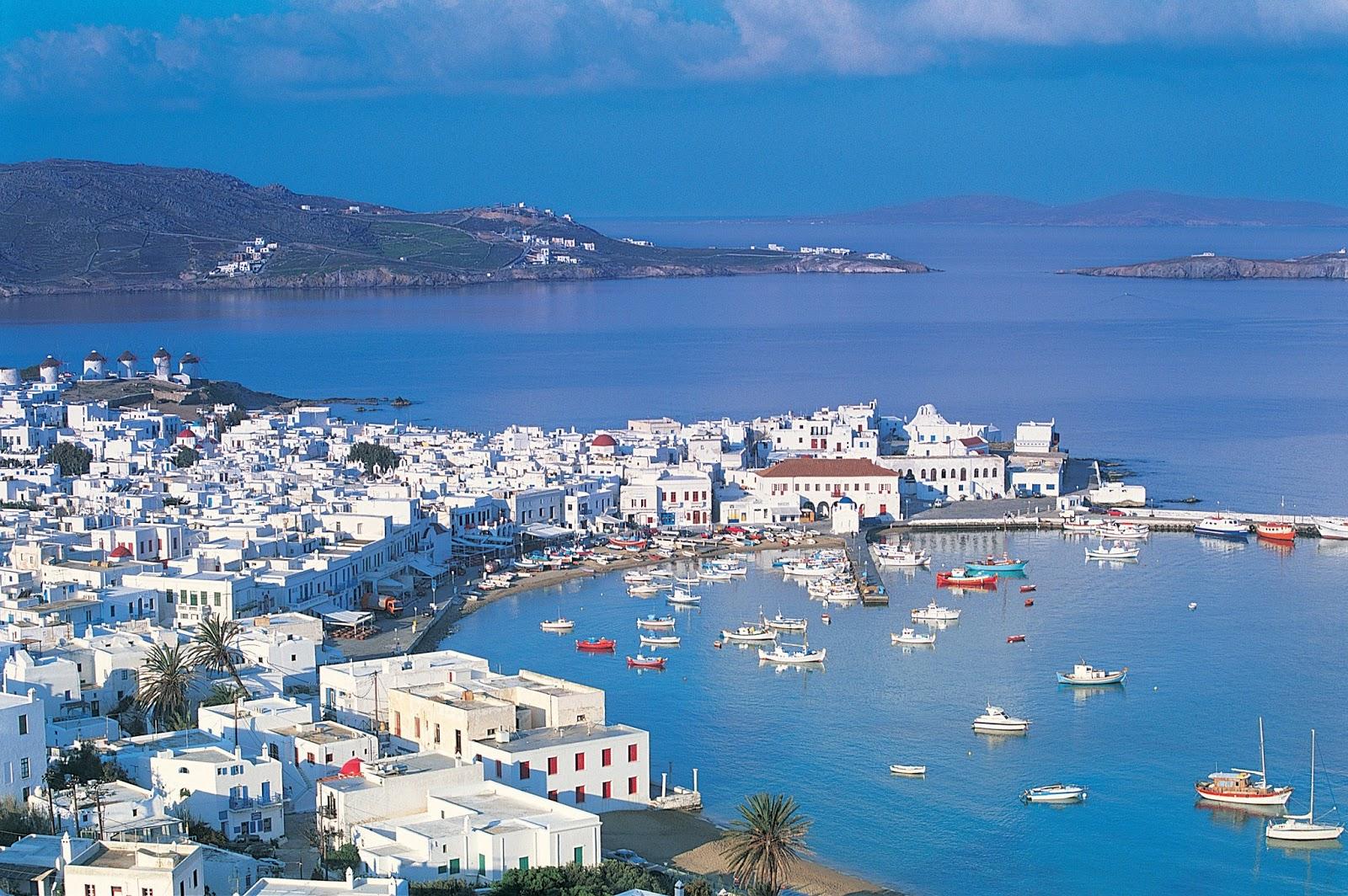Mykonos Beautiful Island Of Greece World
