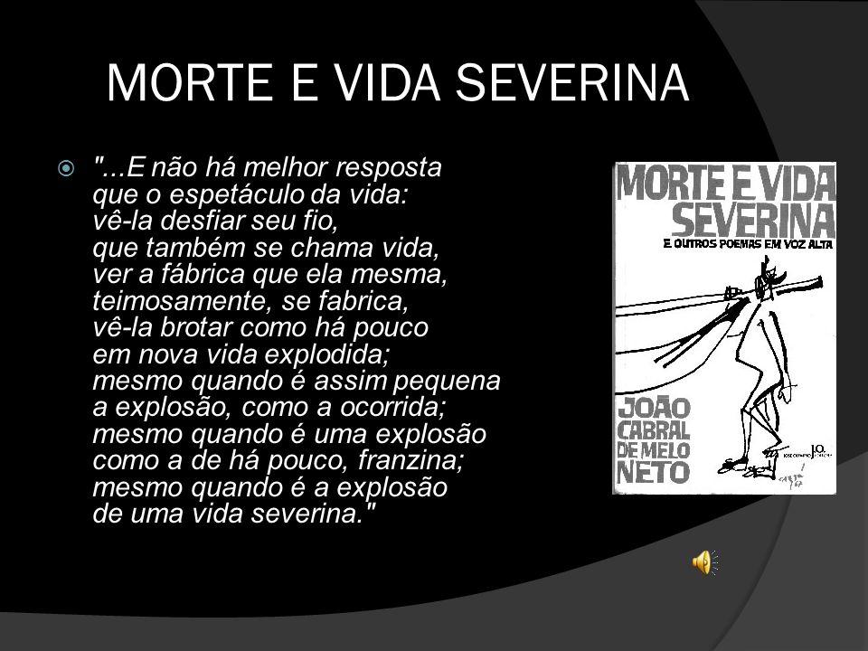 Dali E Daqui Morte E Vida Severina De João Cabral De Melo Neto