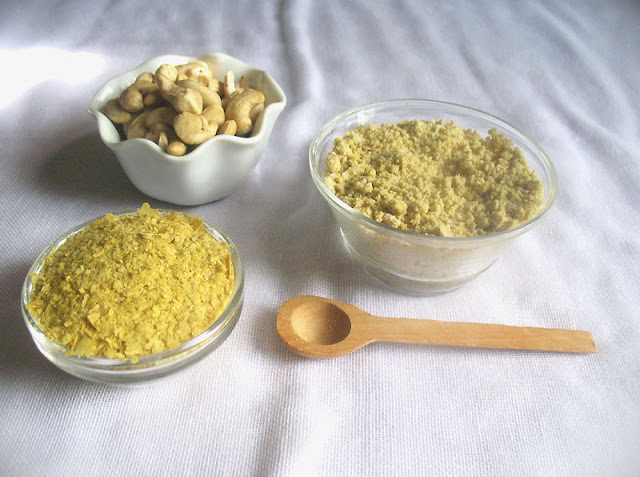 Vegan Parmesan Cheese ingredients