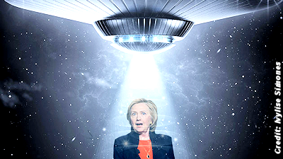 UFO Activists Are Excited About Hillary Clinton