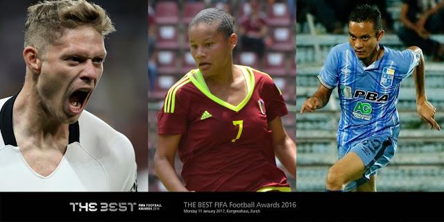 Jom Undi Faiz Subri Yang Tersenarai 3 Calon Akhir Anugerah Puskas FIFA 2016