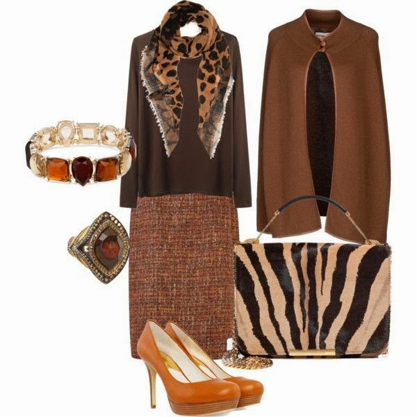 Outfit con capa