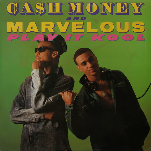 Cash Money And Marvelous - Play It Kool / Ugly People Quiet (Single 12-1988) 320