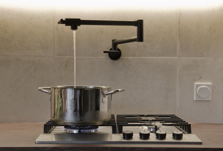 kran nad kuchenkę gazową