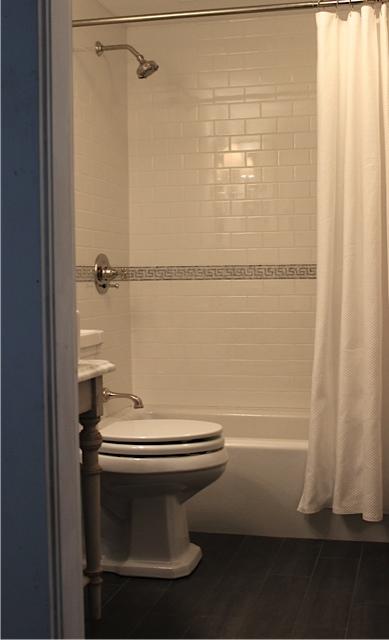 An Urban Cottage Guest Bath Details