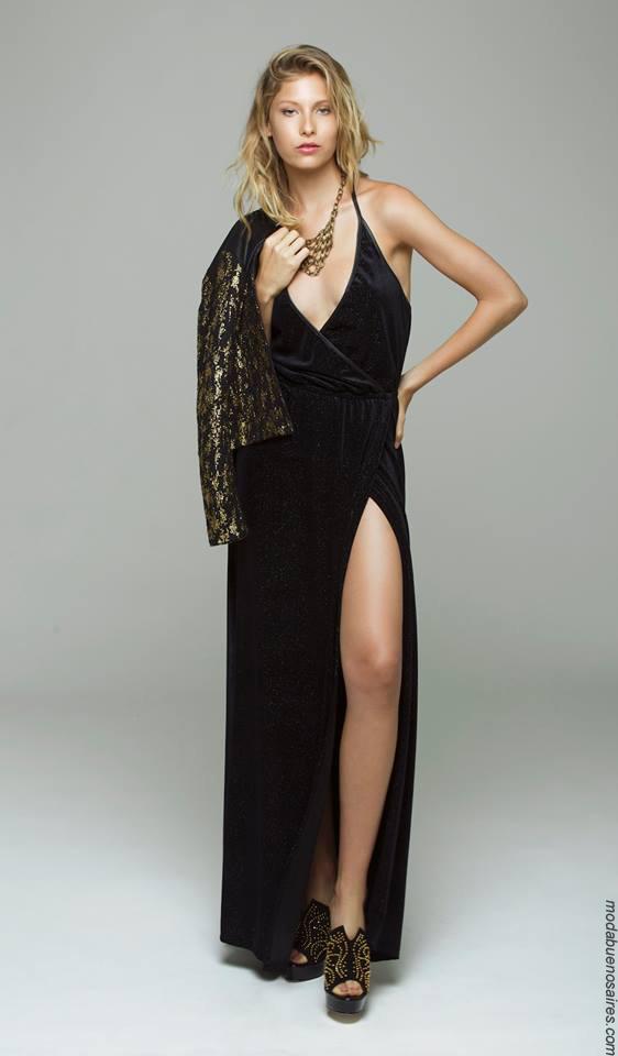Moda mujer invierno 2017 ropa de mujer moda vestidos de fiesta 2017.