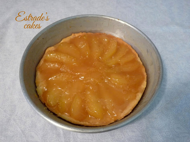 receta de la tarta tatín de manzana 1