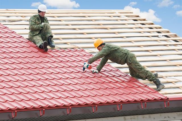 подготовка крыши под металлочерепицу