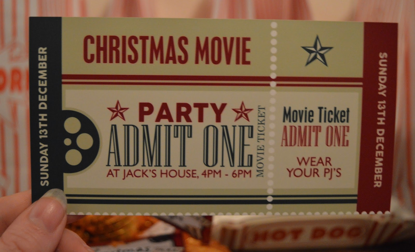 How to host a fantastic kids Christmas party for under £4 per head - movie ticket