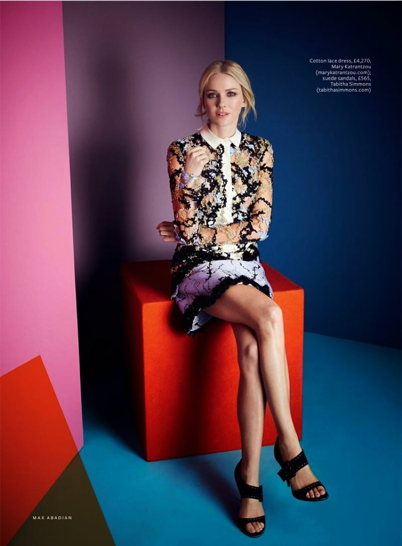 Smartologie Naomi Watts For Instyle Uk February 2015