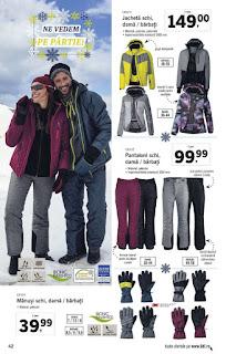 Catalogul LIDL 26 noiembrie - 2 decembrie 2018 haine de schi