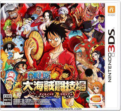 Top Five One Piece Dai Kaizoku Colosseum 3ds Cia - Circus