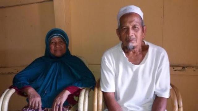 29 Tahun Menarik Gerobak Pasir, Kakek Dan Nenek Ini Kini Bisa Melaksanakan Ibadah Haji