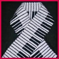 Bufanda piano
