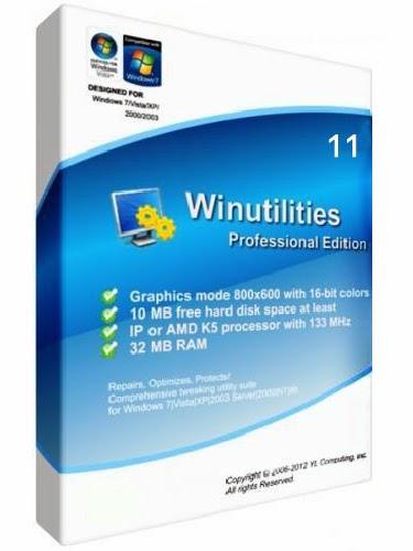 WinUtilities Pro 11.27 + Crack
