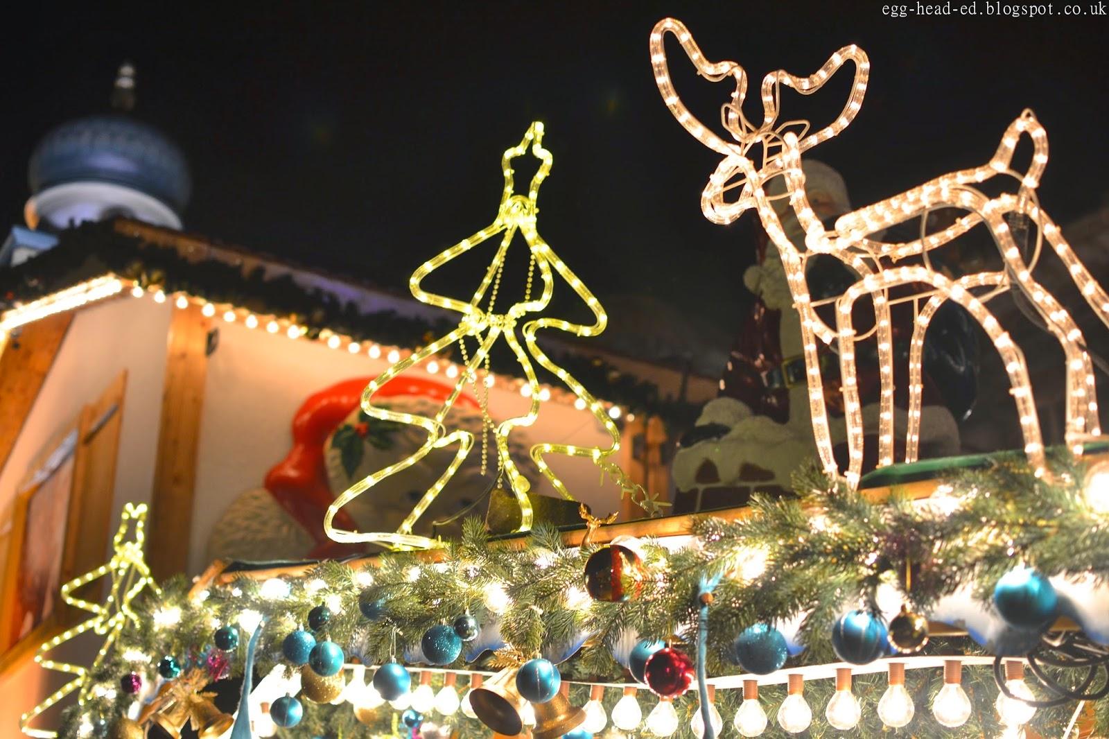 Birmingham Christmas Market Festive Stalls