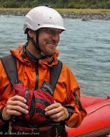 WhereIsBaer.com Chris Baer Grand Canyon of the Colorado AZ Arizona, rafting kokatat wrsi helmet smile
