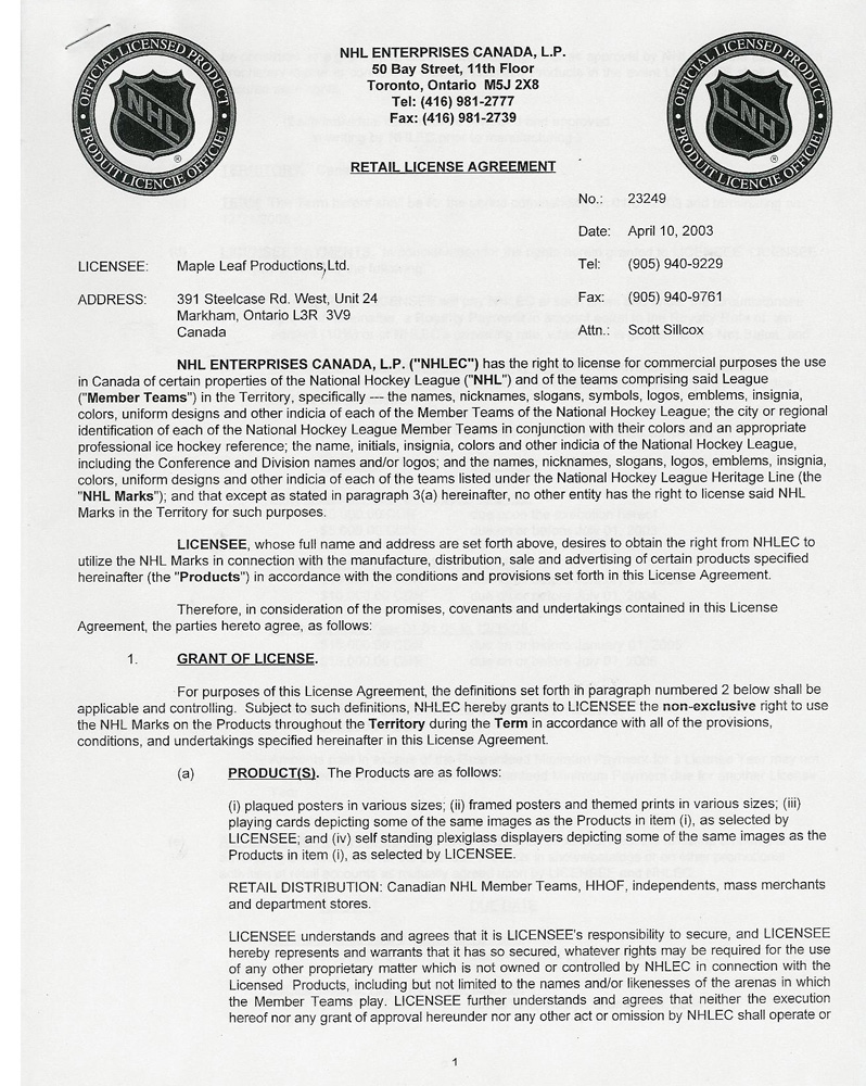 Royalty License Agreement Template Sample License