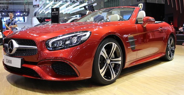 Mercedes SL 400 thiết kế thể thao, vận hành cực kì an toàn