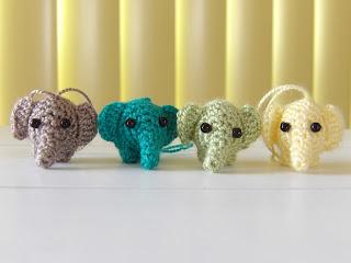 amigurumi, haken, olli, olifant